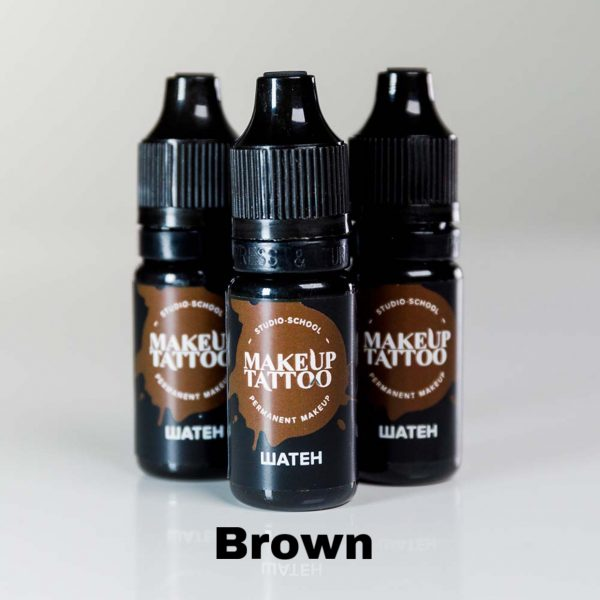 Eyebrow Pigment Brown 1bottle