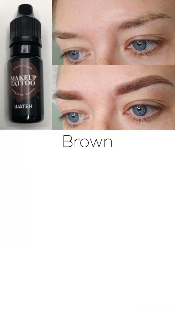Eyebrow Pigment Collection (5 Colour)